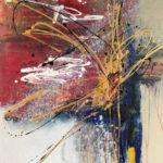 Eliptica - Acrylic on canvas, 36x48 inch/ 91,5 x 122 cm