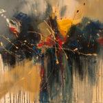 Sound of Soul - Acrylique sur toile, 30x40 po. / 76,2x101,6 cm