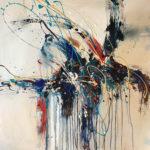 Rymth of the Soul - Acrylique sur toile, 36x36 po. / 91,5x91,5 cm