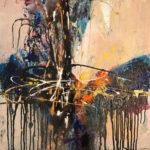 Soul Searching - Acrylique sur toile, 24x24 po. / 61x61 cm