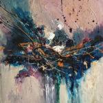 Soul Impressions - Acrylique sur toile, 24x24 po. / 61x61 cm