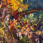 Sognare a colori, Acrylic on canvas, 28 x 22 inch. / 71 x 56cm