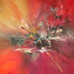 True Colors - Acrylique sur toile, 40 x 40 po. /102 x 102 cm
