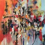 Pieces of Mind - Acrylique sur toile, 30 x 40 po./ 76,2 x 101,6 cm