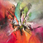 Sueno Encantado - Acrylique sur toile, 40x30 po. /101,5 x 76 cm