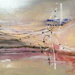 Suavidad - Acrylique sur toile, 48x36 po. /121,92x91,44 cm