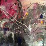 Poema del Alma - Acrylique sur toile, 40x30 po. / 101,6x76,2 cm